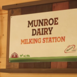 MIlking Station at Roger Williams Zoo
